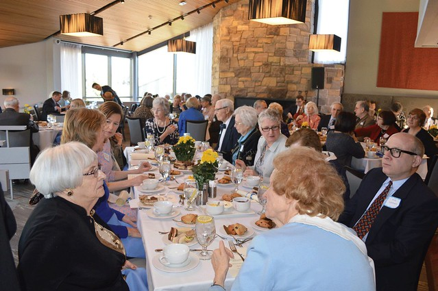 13-WCCP 100th Anniversary2016_0042-- Kay's table again with Barbara Broad, Reba Lippincott, Jeff Lippincott, Dotty Fullam, Beverly Crane Dubee