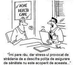 stressul nu e asigurat asigurari de sanatate vs abonamente de sanatate