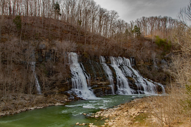 Cliffside Waterfall