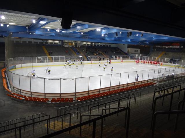 DEG U19 2:1 Bad Tölz U19 at Eisstadion Brehmstraße