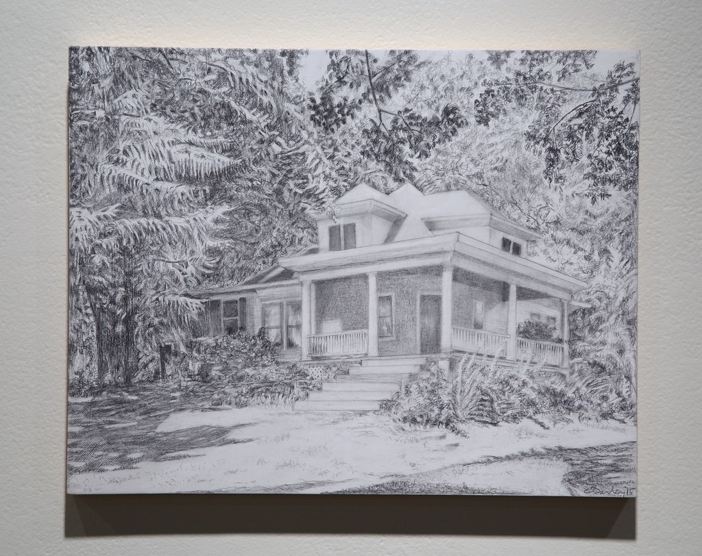 101 Lusk Graphite on Panel 2015