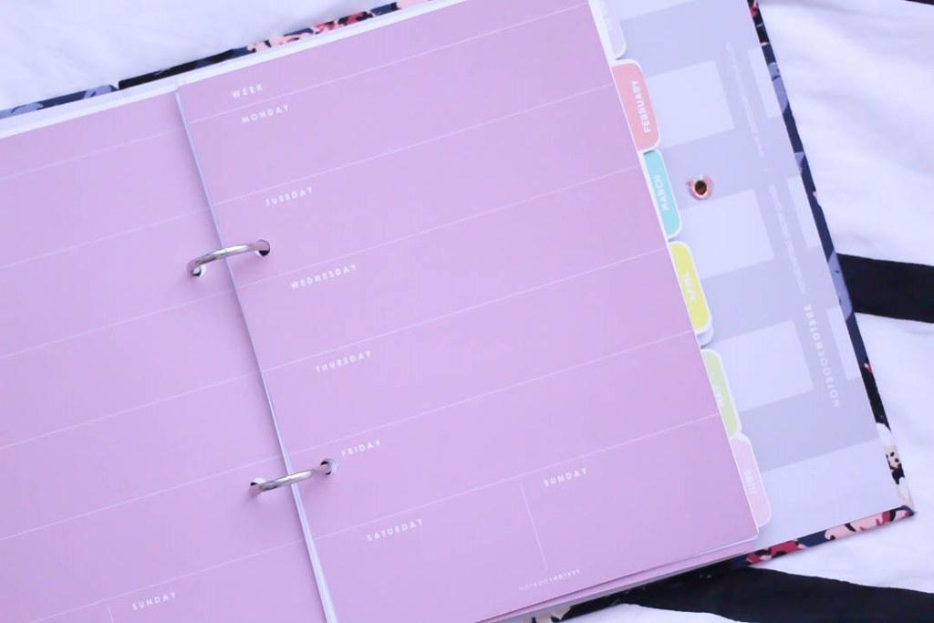notbook notbuk weekly planner
