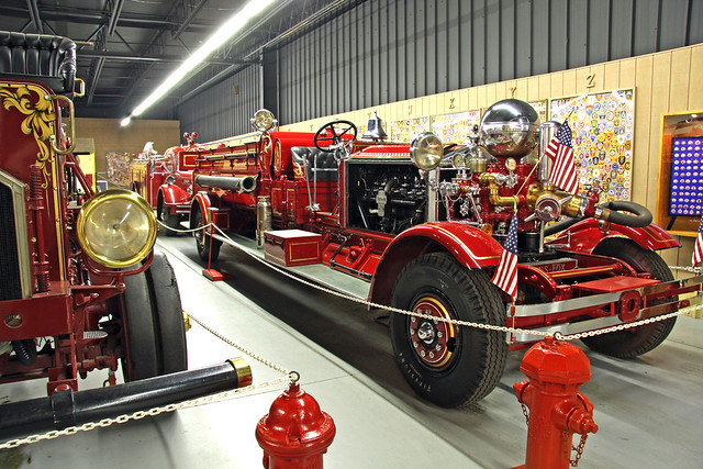 Fire Engine in the Hall of Flame, Tempe, Arizona.