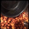 #homemade #Struffoli #Pignolata #HoneyBalls #CucinaDelloZio - pour honey on balls