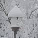 Snow covered birdhouse! by ineedathis, the older I get, the more fun I have!