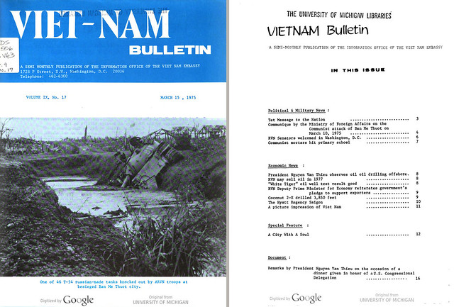 VIETNAM Bulletin - MARCH 15, 1975 (1)