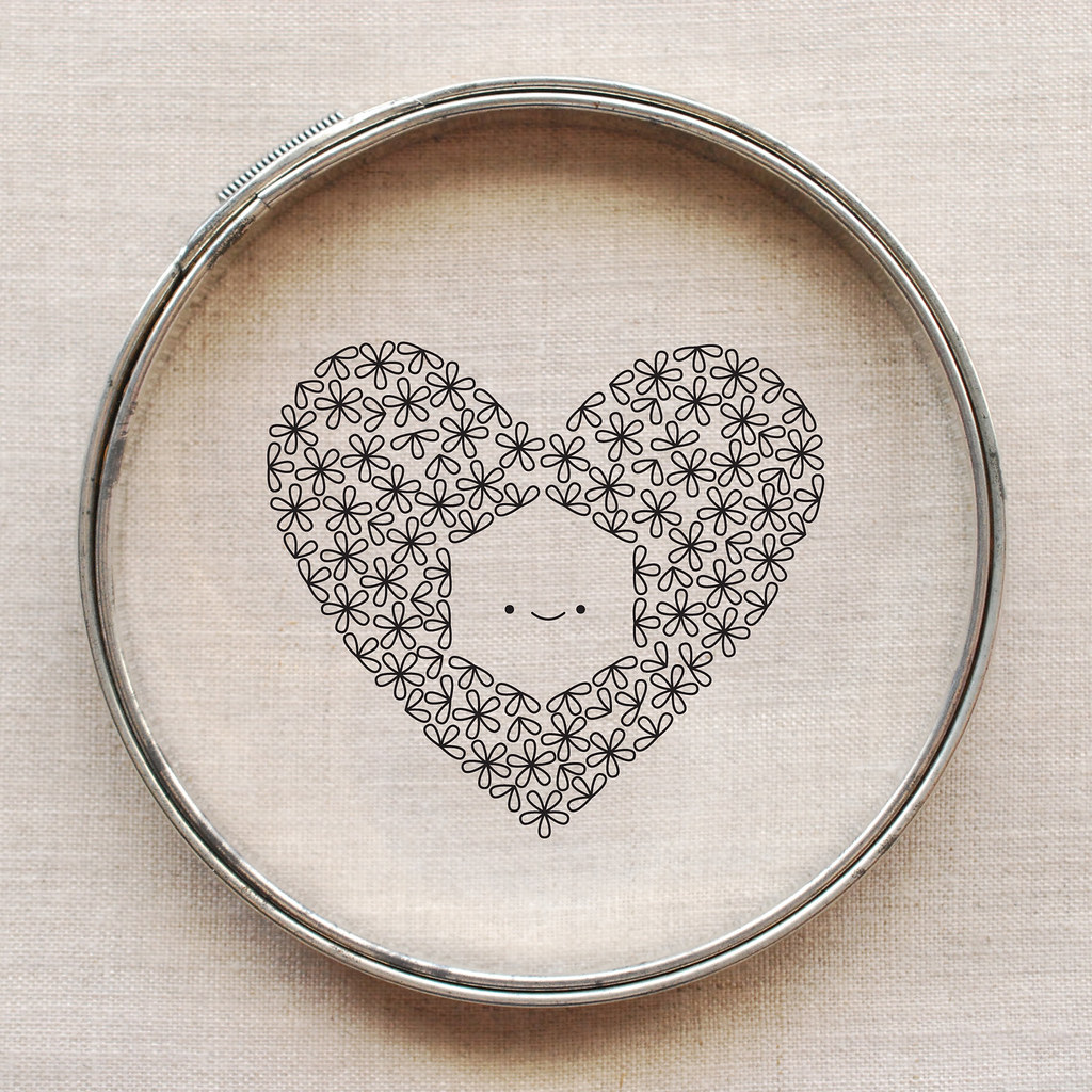 For the Love of Hexagons Embroidery Pattern