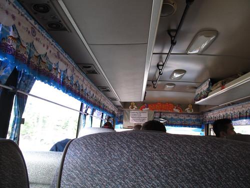 Bus de Siem Reap à Battambang