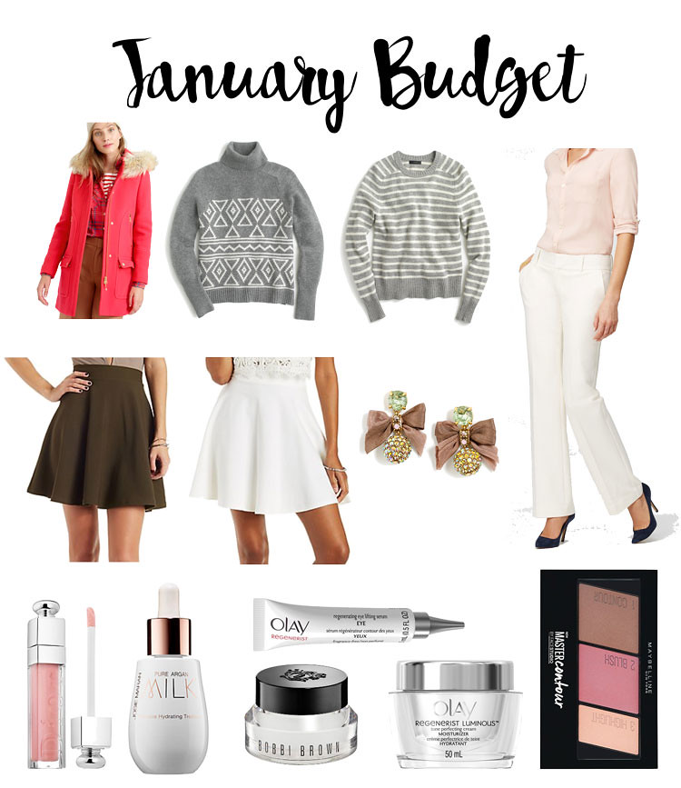 cute & little blog | petite fashion | january budget