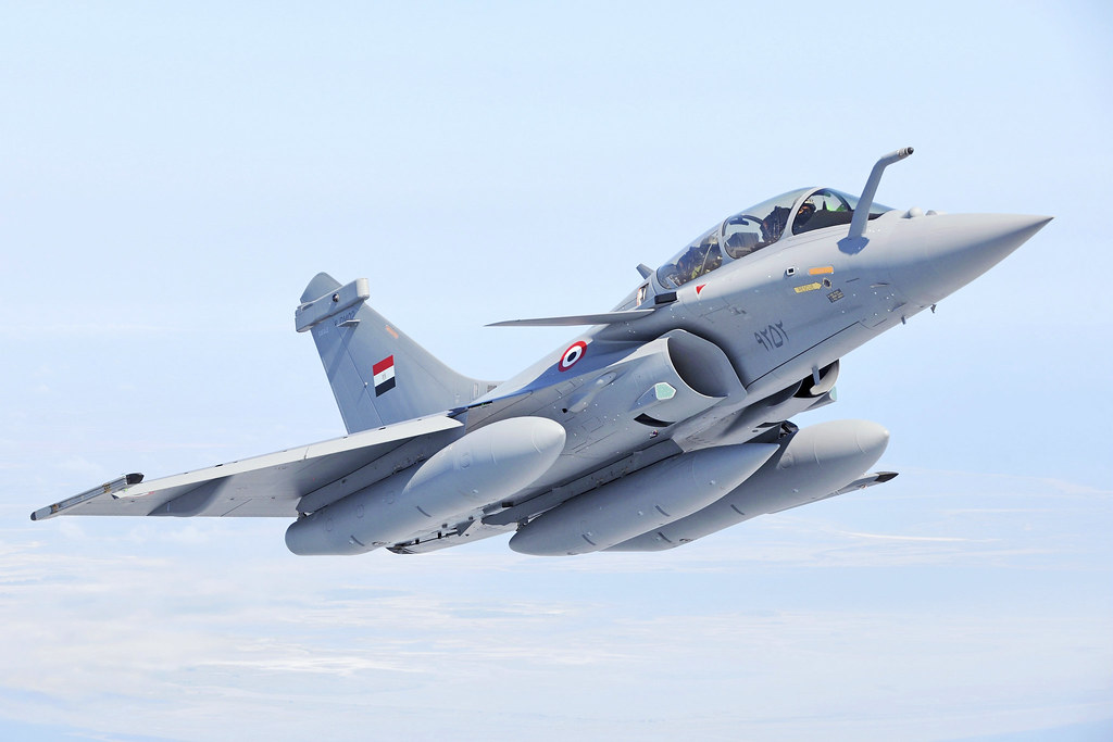 Dassault Rafale - Egyptian Air Force رافال