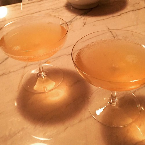 Having a cocktail crush on the French 75, Cognac version...thanks @robertosimonson for recipe @nytfood http://ift.tt/1PAh8CY