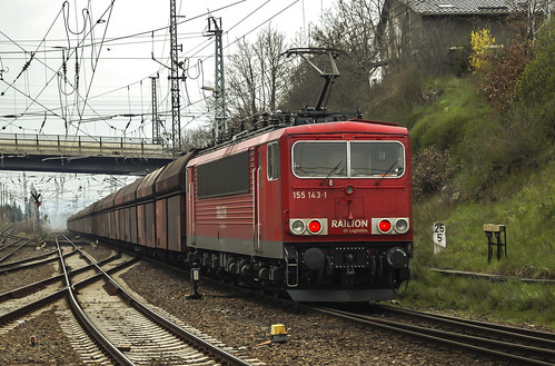 train germany dr db bahn germania treni sassonia saxen br155