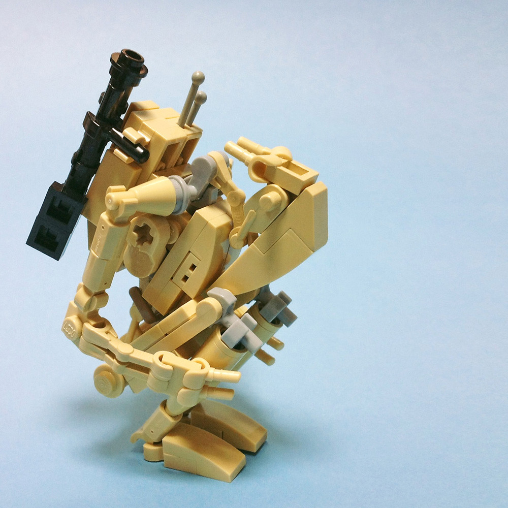 How To Build A Lego Star Wars Droid Tank