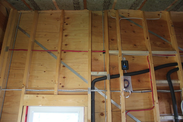 Walls Before Insulation