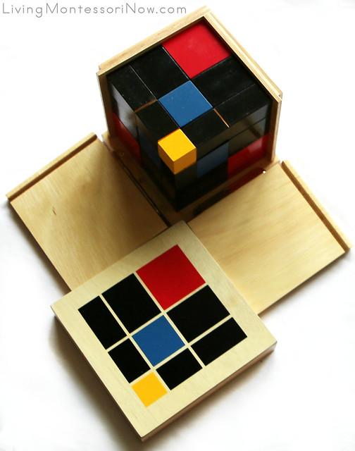 Trinomial Cube from Alison's Montessori