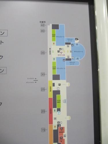 京都競馬場の5階フロアマップ