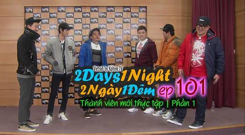 [Vietsub] 2 Days 1 Night Season 3 Tập 101