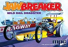 Jawbreaker Wild Rail Dragster 1:25 Scale MPC Model Kit #821 Review