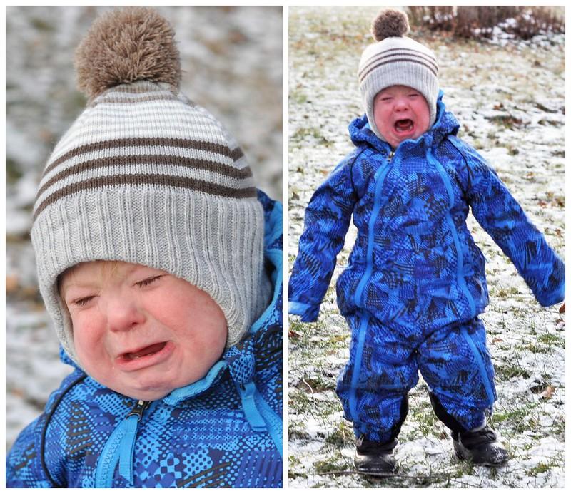 Liam hates winter