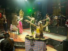 Thai Music Live Morlam Sing Dancers Performance Concert (C)