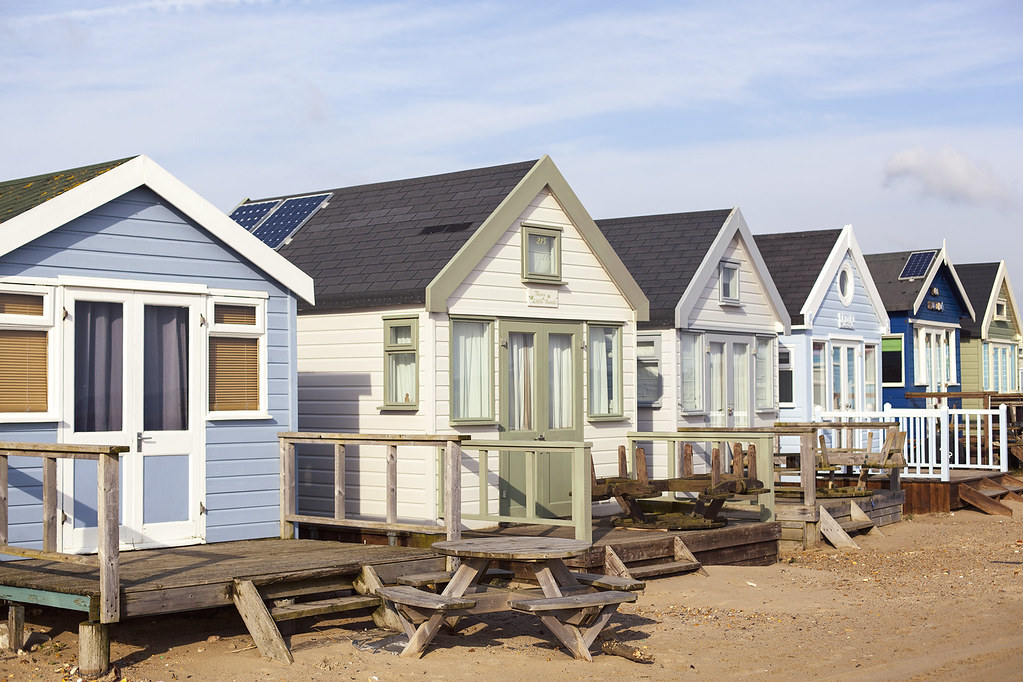 4 of The Most Colourful Collections of Beach Huts | candypop.uk.com