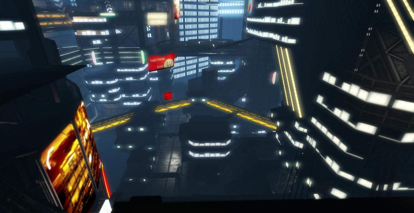 Mesa 5's cityscape