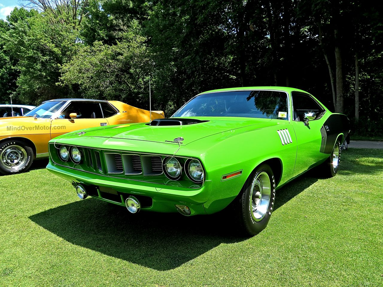 1971 Plymouth Hemicuda Concours of America 1