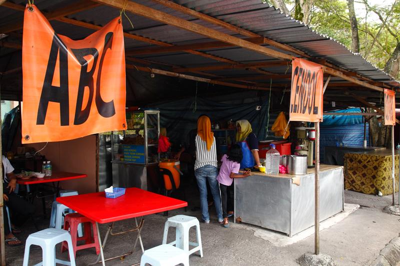 Kabir's Cendol and Rojak Stall Bandar Sri Damansara