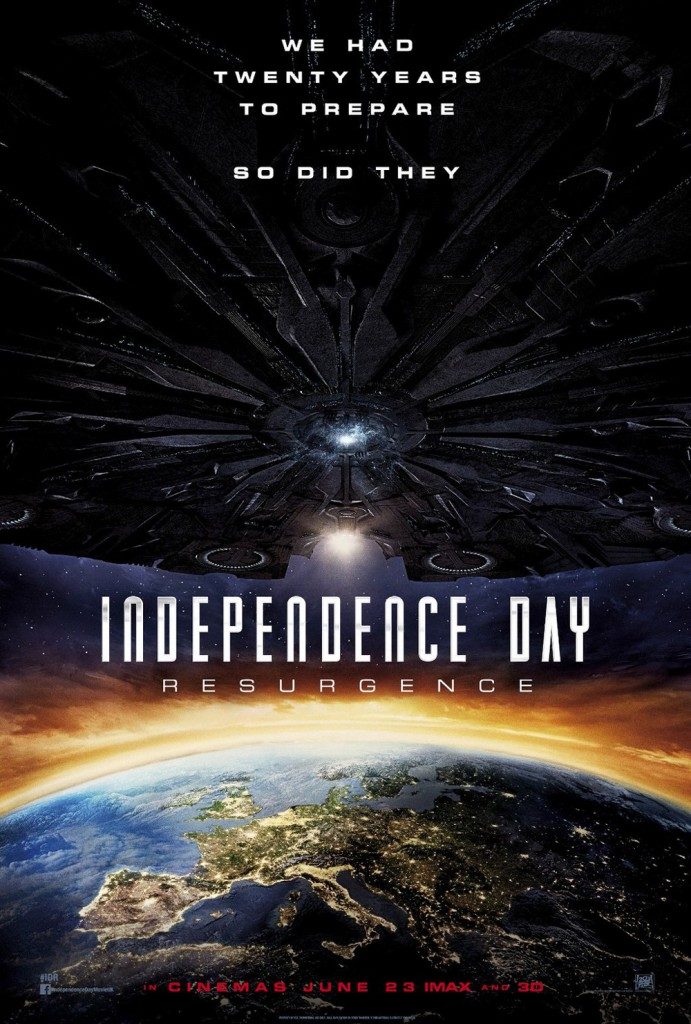 Ini Dia Poster Rasmi Filem INDEPENDENCE DAY RESURGENCE