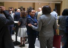 Annet Oguttu Chatting with Wollela Yesegat