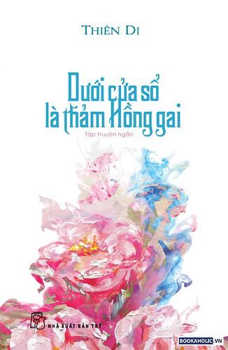 duoi cua so la tham hong gai