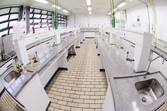 Laboratórios de Química e Farmácia - Foto: Rafael Casagrande
