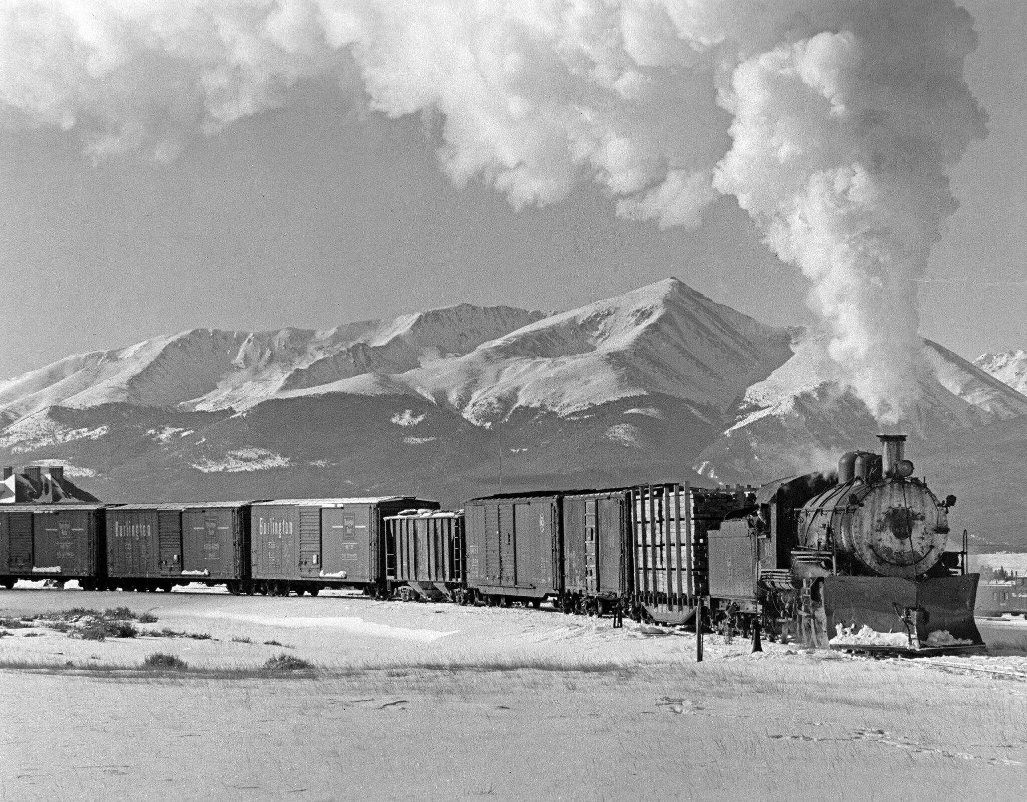 Colorado & Southern 641, by Ron Hill