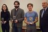 Julia Cagé, Fabrice Arfi et Jérôme Clément-Wilz, les lauréats des prix des Assises 2016