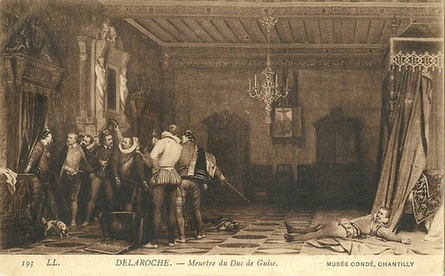 Paul Delaroche, L'Assassinat du Duc de Guise