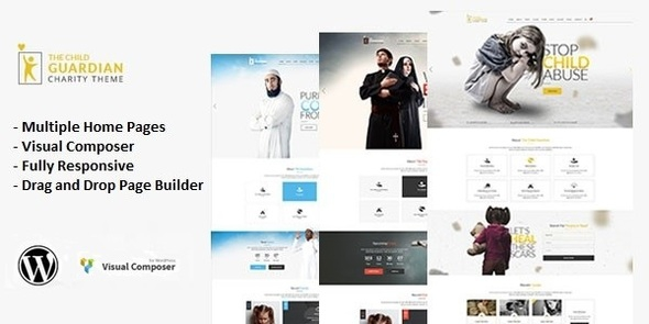 The Child Guardian v1.0 – Responsive Charity WordPress Theme