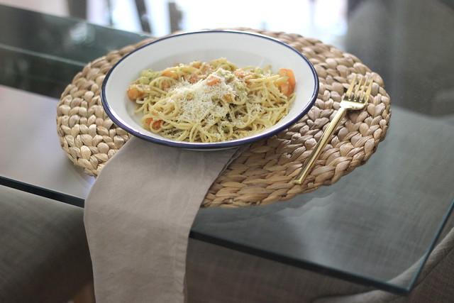 Pasta con aguacate_ Rojo Valentino Blog (2)2