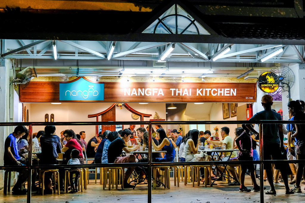 Nangfa Thai Kitchen stall front