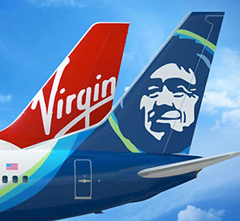 Alaska Airlines y Virgin America (Alaska Airlines)