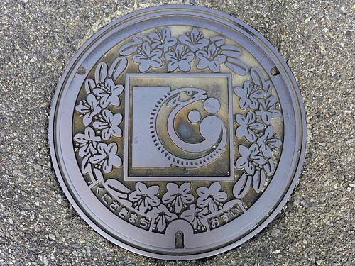 Kunisaki Oita, manhole cover (大分県国東町のマンホール)