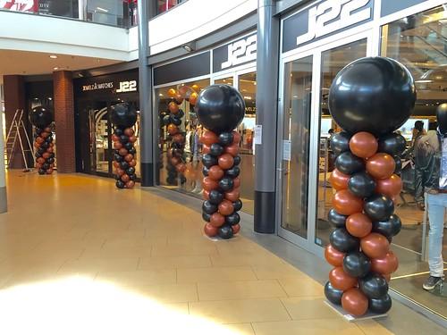 Ballonpilaar Breed Rond Opening J22 Rijswijk