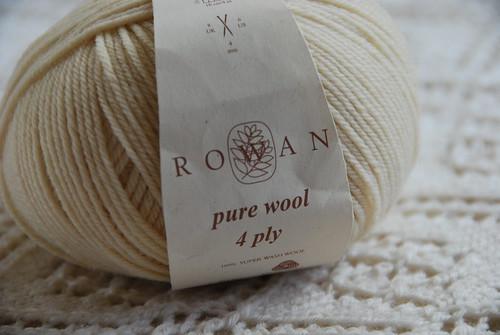 Rowan pure wool 4ply