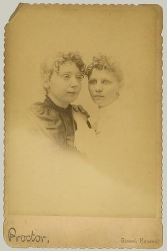 CDV Two Women