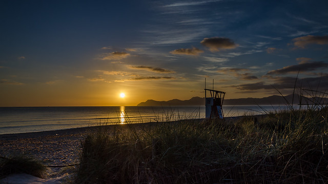 Playa de Muro sunrise