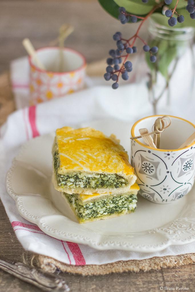 IleanaP.Torta rustica con ricotta e spinaci2
