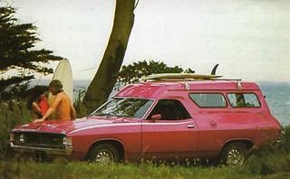1972 Ford Falcon XA Van (Australia)
