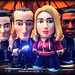 The Fantastic TARDIS Squad by Rooners Toy Photography