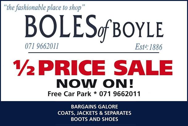 Boles New Year Sale