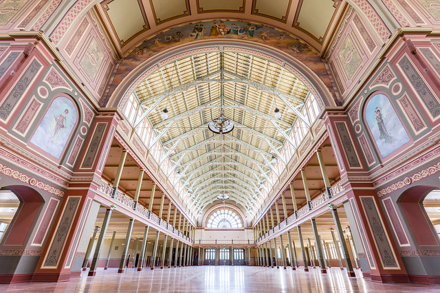 The most beautiful room in Australia? The Royal Exhibition Building, Melbourne, Australia (Unesco world heritage site)