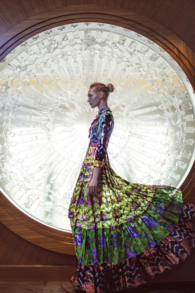 Саша Пивоварова — Фотосессия для «Vogue» CH 2016 – 4